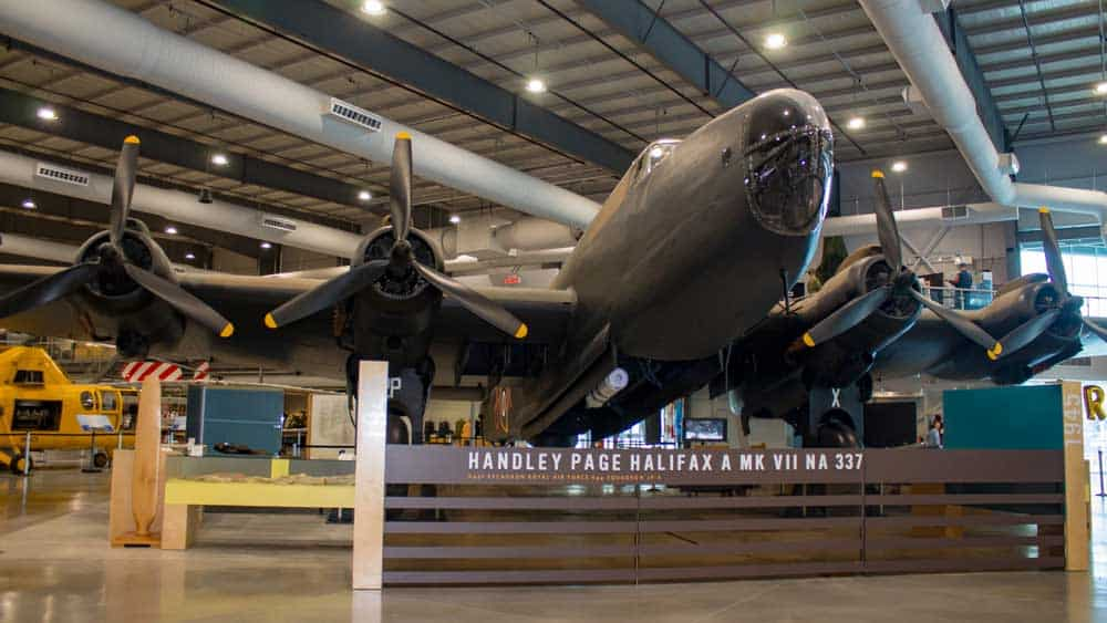 Aviation Museums Around the World - National Air Force Museum of Canada