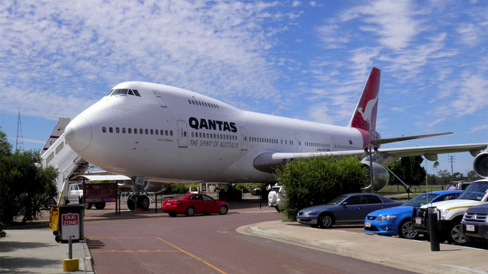 Aviation Museums Around the World - Qantas Founders Museum