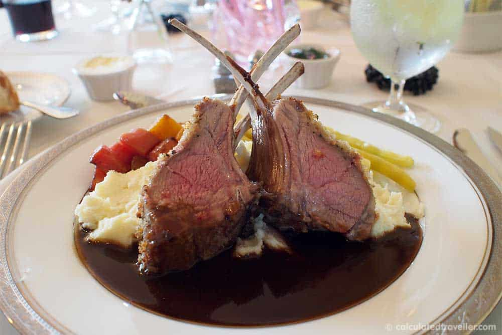 Relaxing Elegance at River Spring Lodge Darien Center New York - Frenched Rack of Lamb