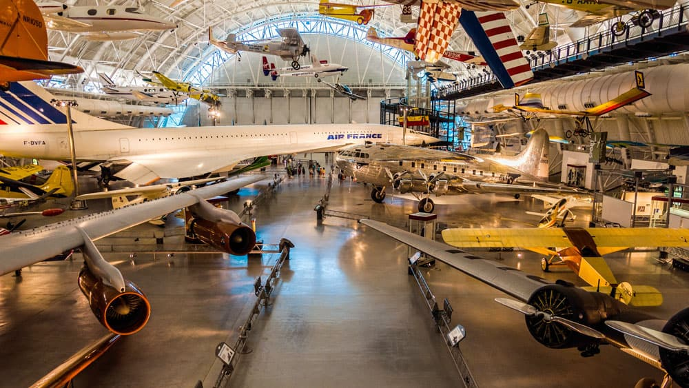 Aviation Museums Around the World - Steven F. Udvar-Hazy Center