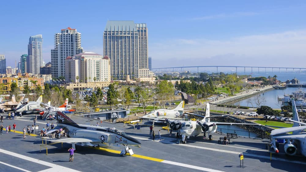 Aviation Museums Around the World - USS Midway Museum