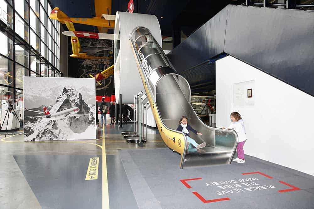 Aviation Museums Around the World - Swiss Museum of Transport