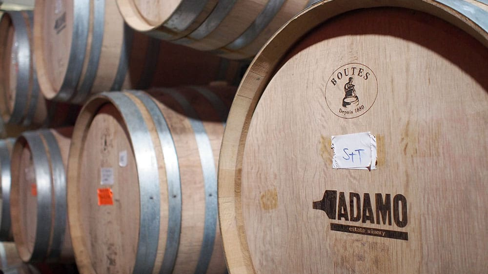 Temperance and Temptation Tour: The Headwaters Story of Prohibition in Ontario - Adamo Estates Wine Barrel Room