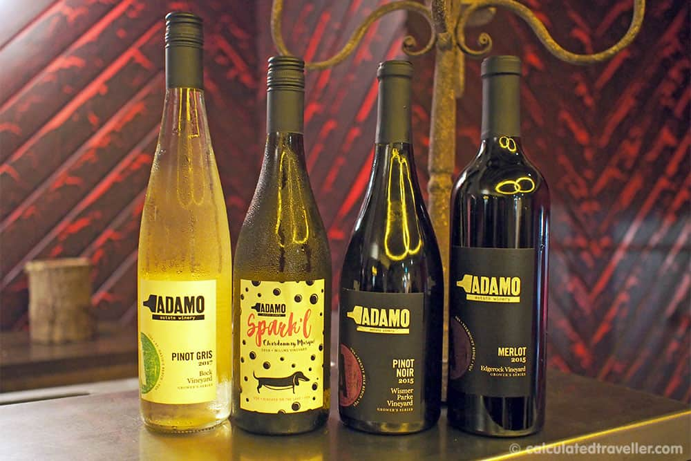 Temperance and Temptation Tour: The Headwaters Story of Prohibition in Ontario - Adamo Estates Winery Wine Tasting