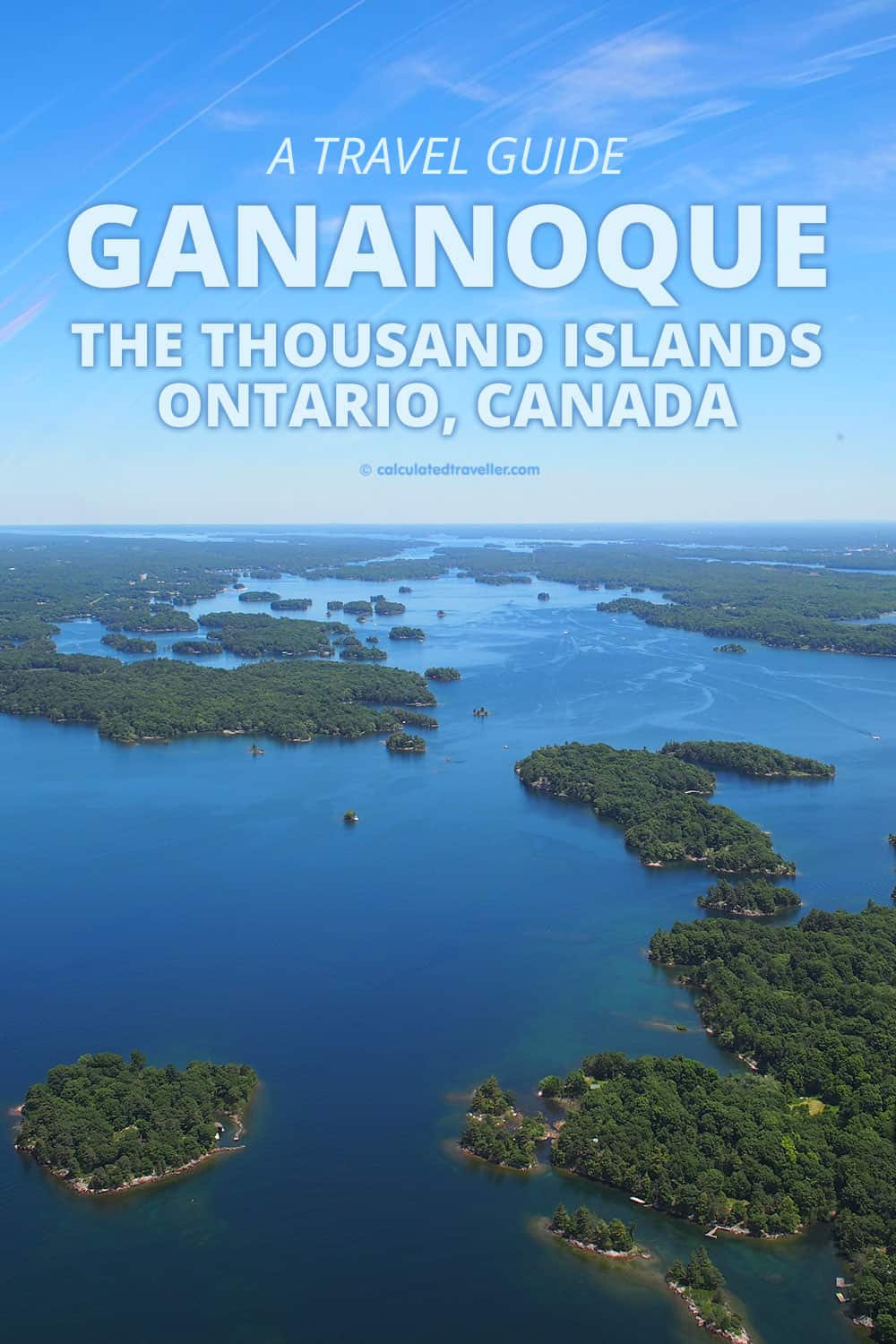 A Travel Guide to Gananoque and the Thousand Islands Ontario, Canada | #Gananoque #Thousand #Islands #1000 #Ontario #travel #guide #tips #tours #see #eat #do #shop