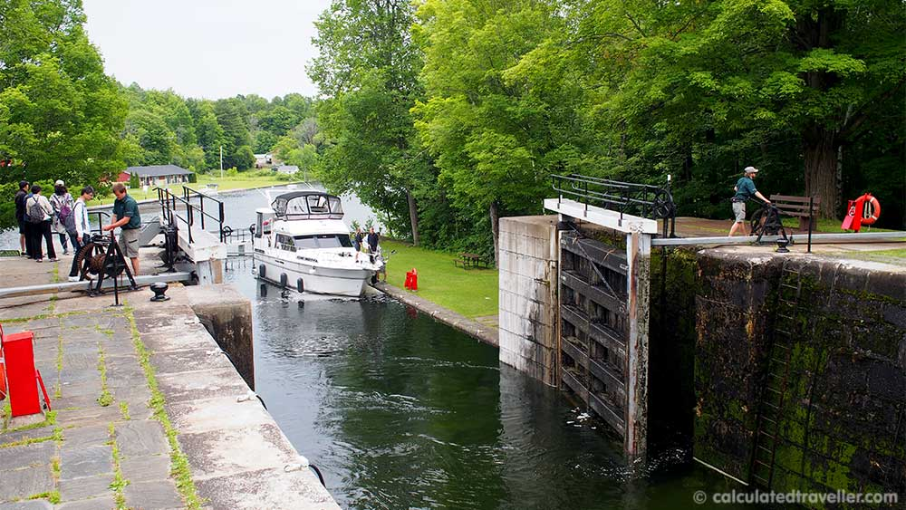 A Travel Guide to Gananoque and the Thousand Islands Ontario, Canada - Rideau Canal