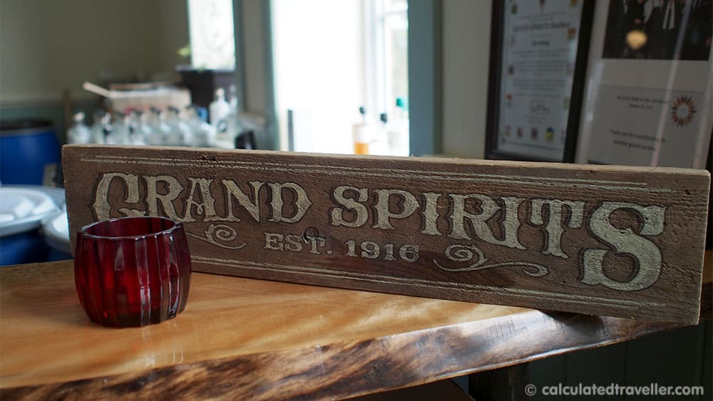 Temperance and Temptations Tour: The Headwaters Story of Prohibition in Ontario - Grand Spirits Distillery