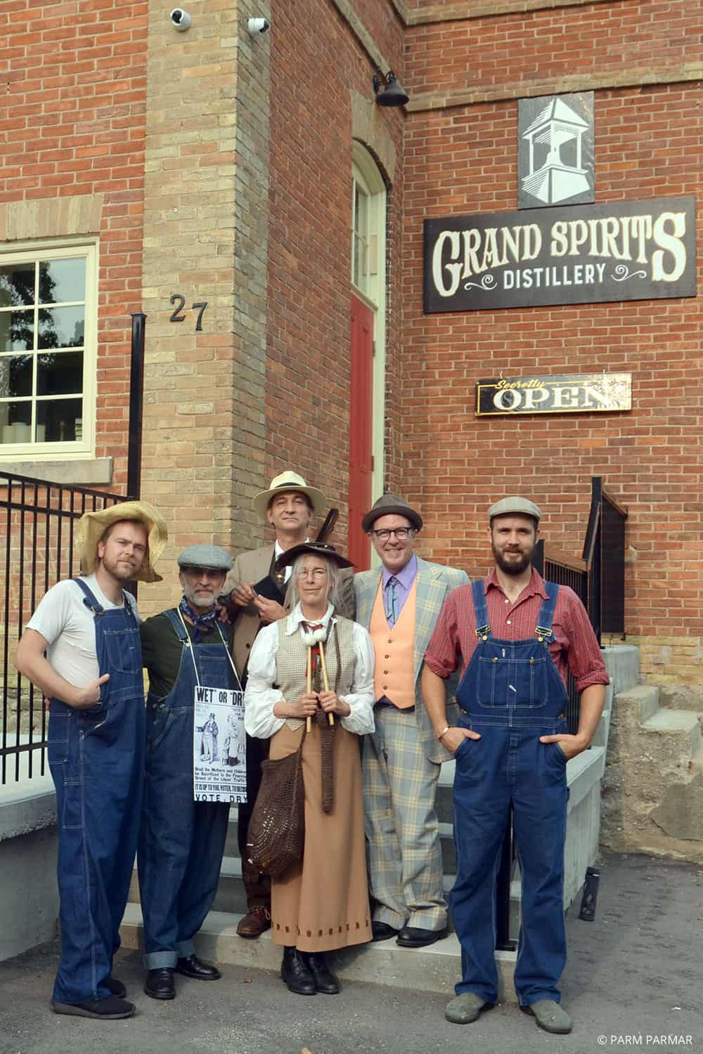 Temperance and Temptation Tour: The Headwaters Story of Prohibition in Ontario - The Cast | #travel #tour #Ontario #Toronto #guided #self-drive #alcohol #distillery #wine #history