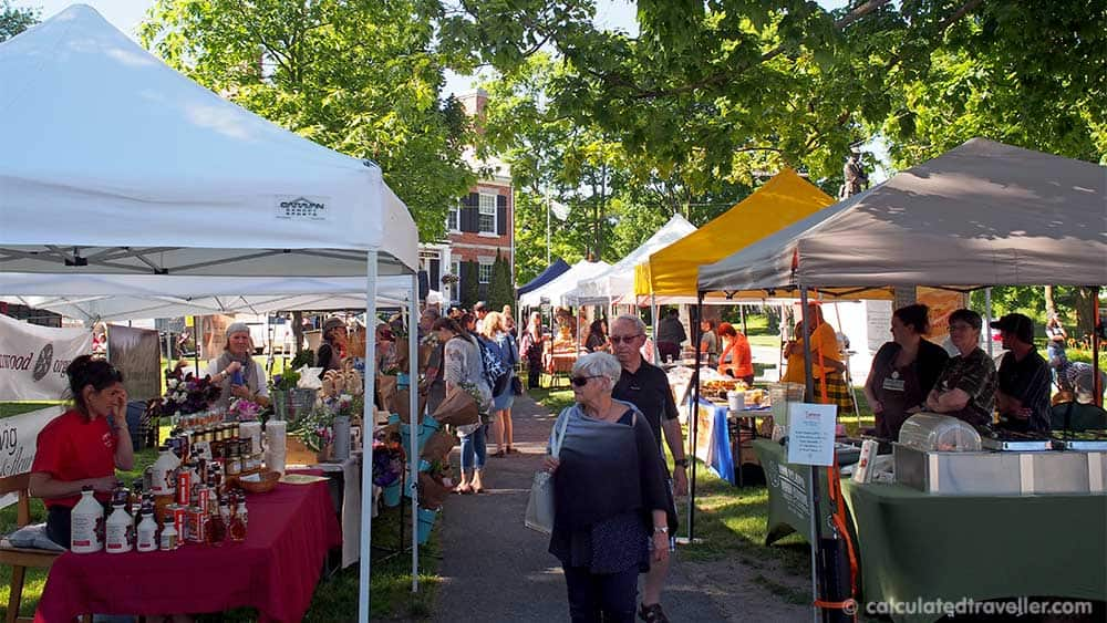 A Travel Guide to Gananoque and the Thousand Islands Ontario, Canada - Gananoque Farmers Market