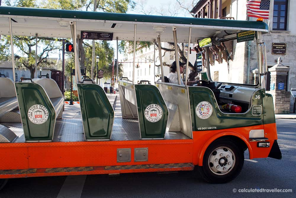 A Traveller's Guide to St Augustine Florida - History and Fun - Old Town Trolley