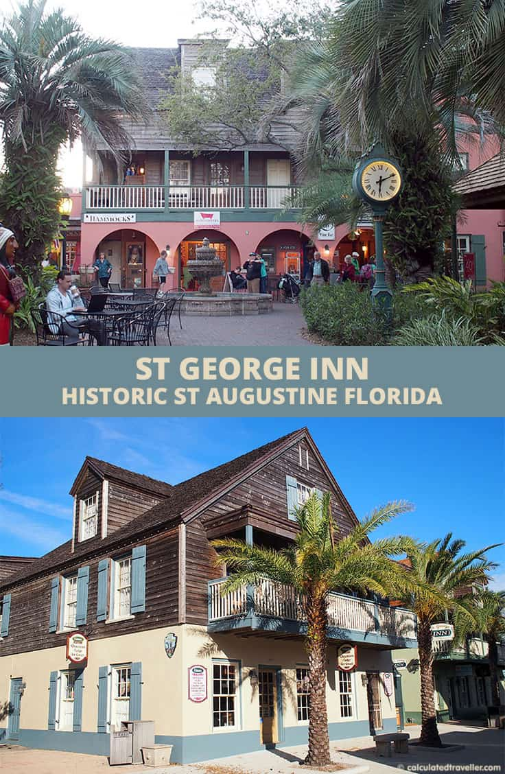 Surrounded by History at the St George Inn, St. Augustine Florida | #travel #StAugustine #Florida #USA #B&B #bedandbreakfast #inn