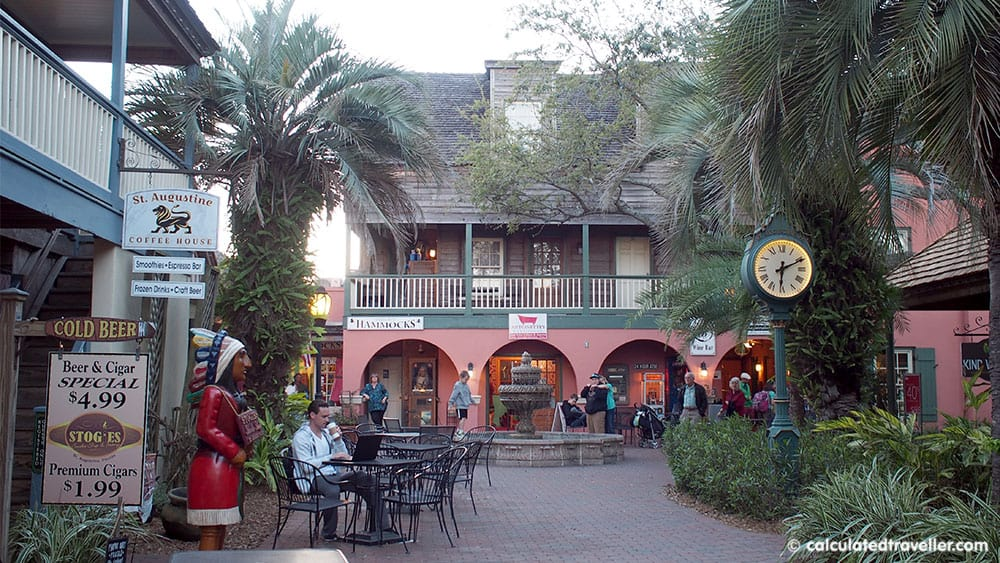 Surrounded by History at the St George Inn, St. Augustine Florida - Courtyard
