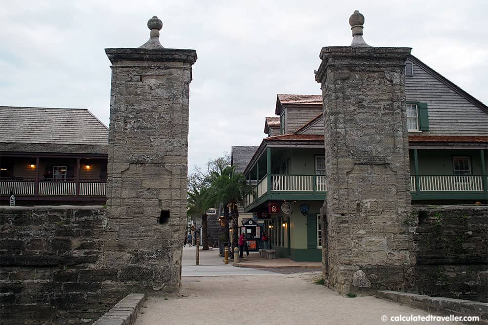 St George Inn St Augustine Florida - Old City Gates