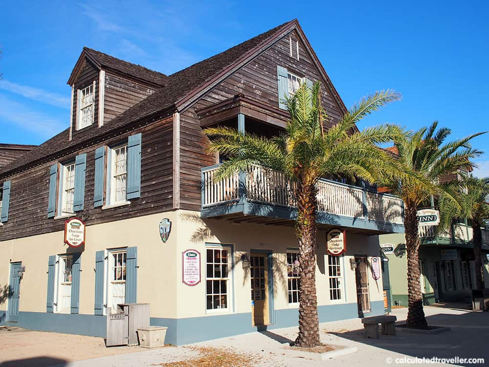 Surrounded by History at the St George Inn, St. Augustine Florida - Exterior view