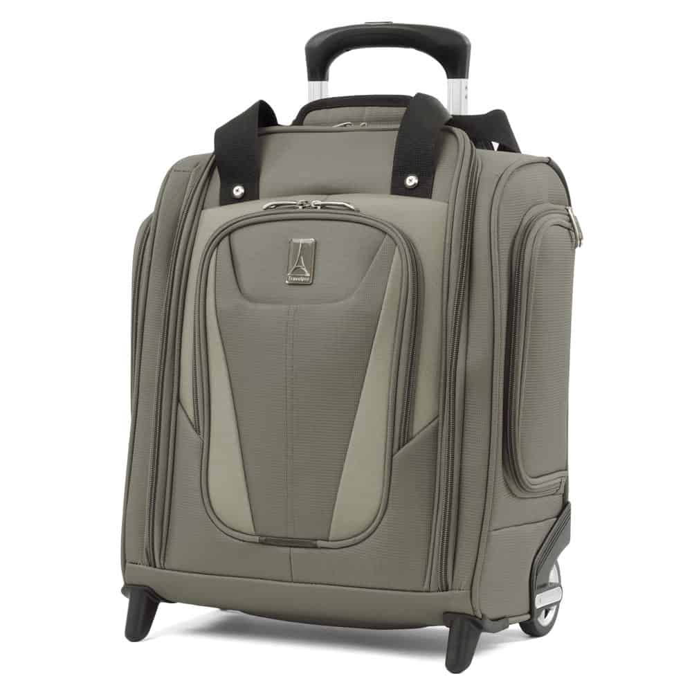 Review: TravelPro MaxLite 5 Rolling Under Seat Carry On - Exterior front view
