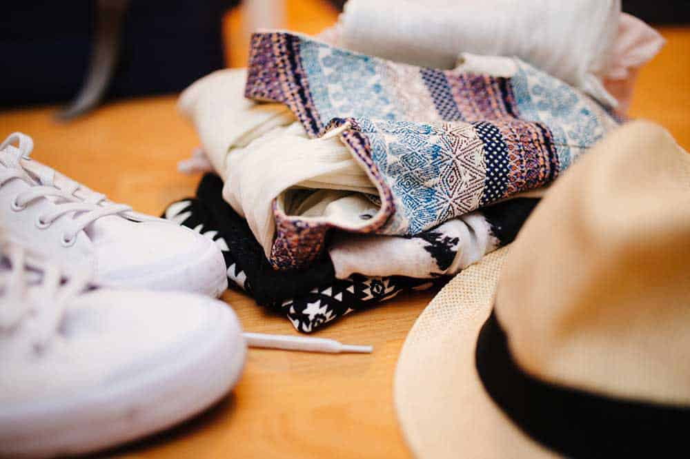 9 Tips for Simply Uncomplicated Solo Travel - Packing Clothes