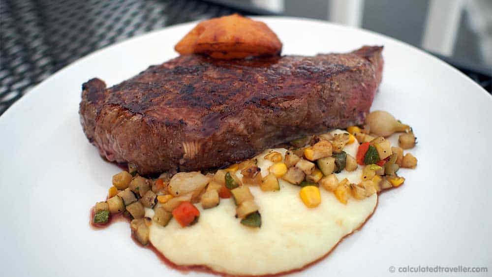 Farmers Creekside Tavern and Inn Le Roy New York. New York Strip Steak