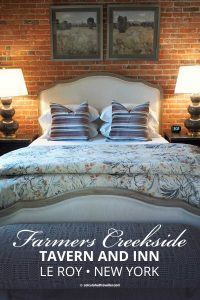 An overstay at Farmers Creekside Tavern and Inn in Le Roy New York featuring their various suites, lunch and dinner in Genesee County. #travel #NewYork #upstate #inn #tavern #restaurant