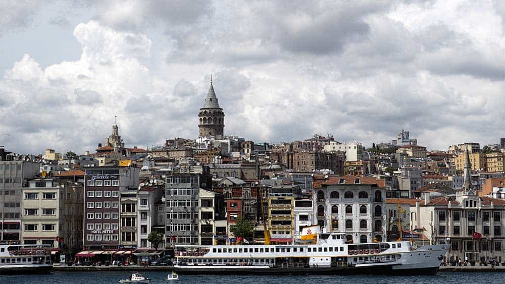 5 Best European Adventures for History Buffs. View of Istanbul from the water.