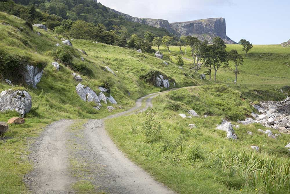 The Four Best Travel Destinations for Pop Culture Fandom. Road to Slavers Bay in Ireland from the Game of Thrones
