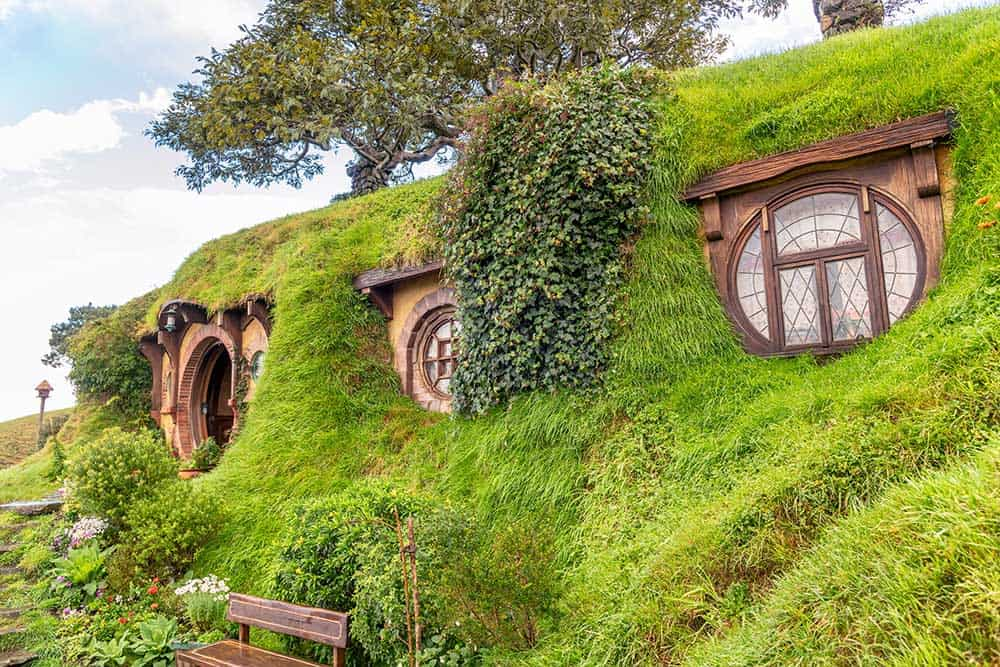 The Four Best Travel Destinations for Pop Culture Fandom. Hobbiton movie set from Lord of the Rings - Matamata, New Zealand