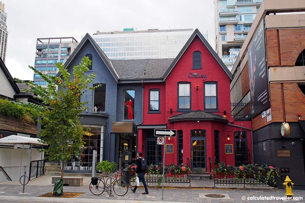 Exploring the Village of Yorkville Toronto. A Day of Food, Architecture and History. Cumberland Street