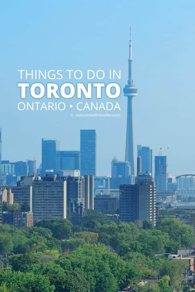 Things to do in Toronto - From getting down with nature to seeing some of the finest man-made architecture ever built, there are so many places to visit in Toronto Ontario Canada. | #travel #Toronto #Ontario #Canada