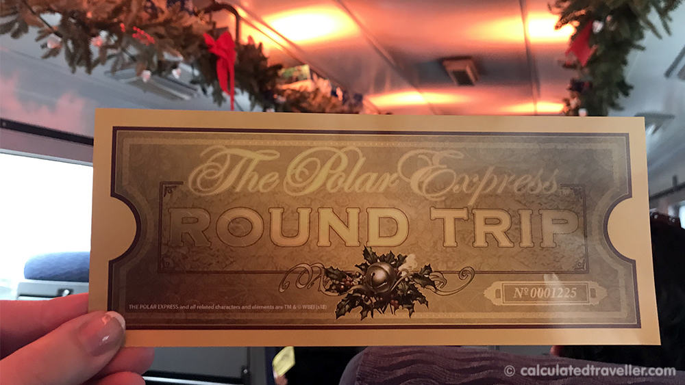 A Magical Experience Awaits on the Polar Express Train Ride - Golden Ticket
