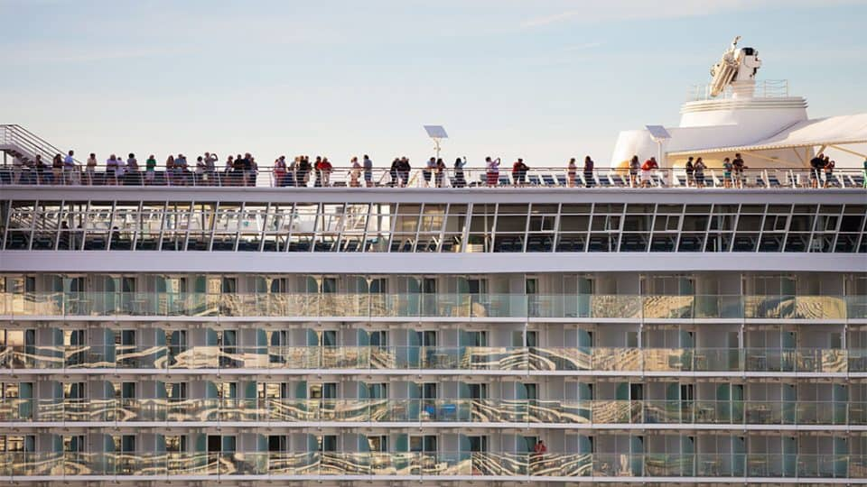19 Reasons Why you Shouldn't Cruise. View of the balconies.