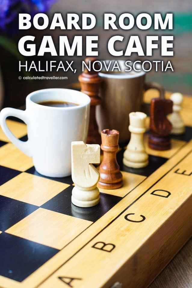 The Board Room Game Cafe in Halifax Nova Scotia is a great place to escape from it all and have a bit of fun in the city centre. #travel #Halifax #NovaScotia #Canada #boardgames #cafe #games #craftbeer