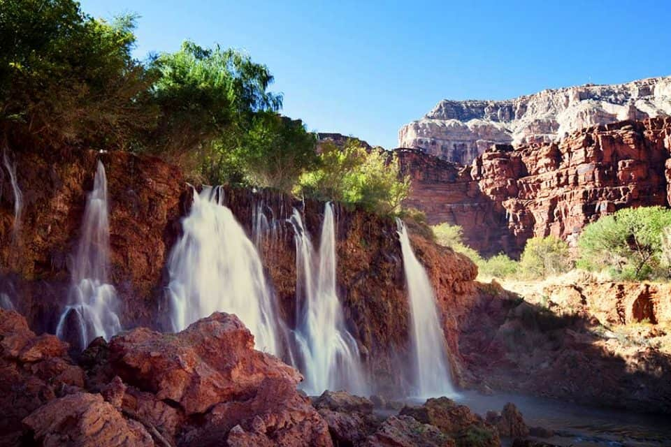 Five Favourite Places to See in Arizona - Havasupai Waterfalls (Havasu Falls)