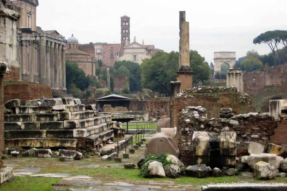 Roman Forum and Palatine Hill - Discovering Rome Italy in 3 Days