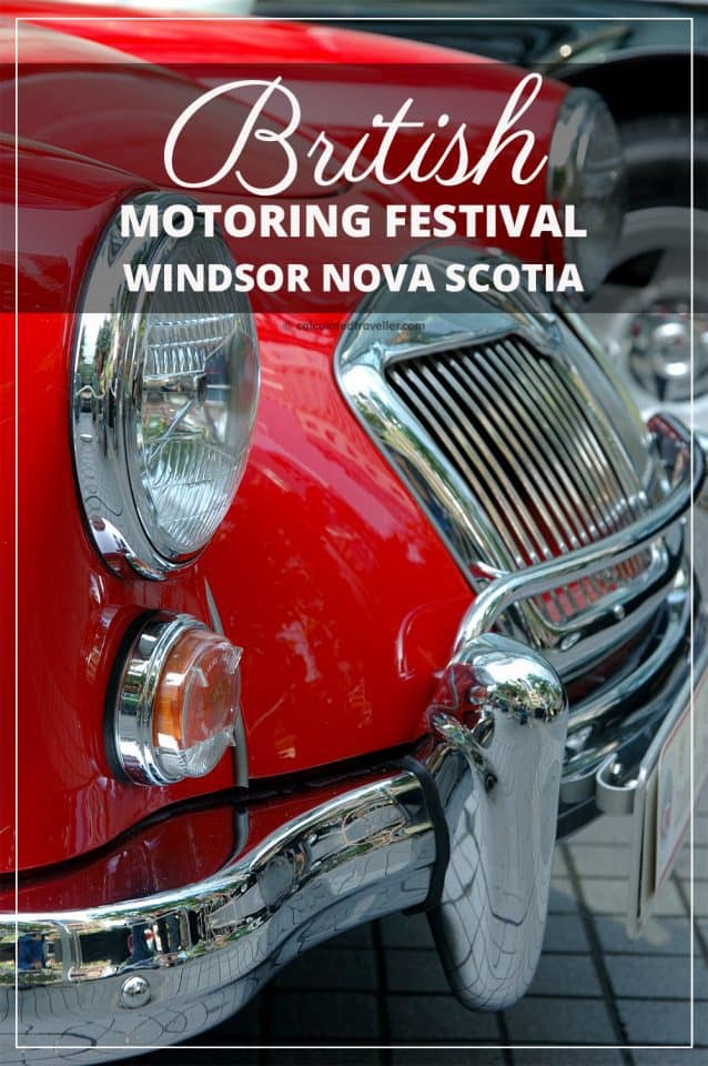 The British Motoring Festival in Windsor Nova Scotia is an annual summer event taking place each year in July. #event #car #vintage #classic #NovaScotia #Canada #British