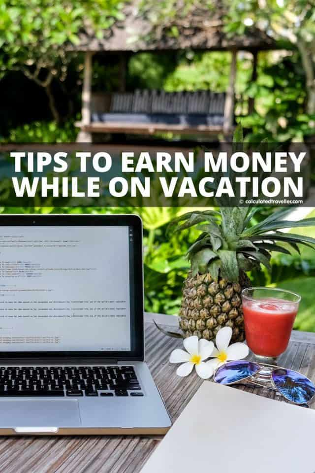 Eight Ways To Earn Money While On Vacation #travel #freelance #housesit #babysit #tutor #tourguide #virtual