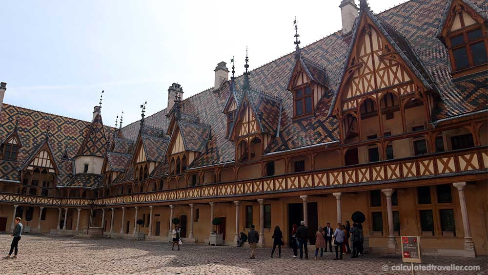 Hospices de Beaune also known as the Hôtel-Dieu Museum in Beaune France