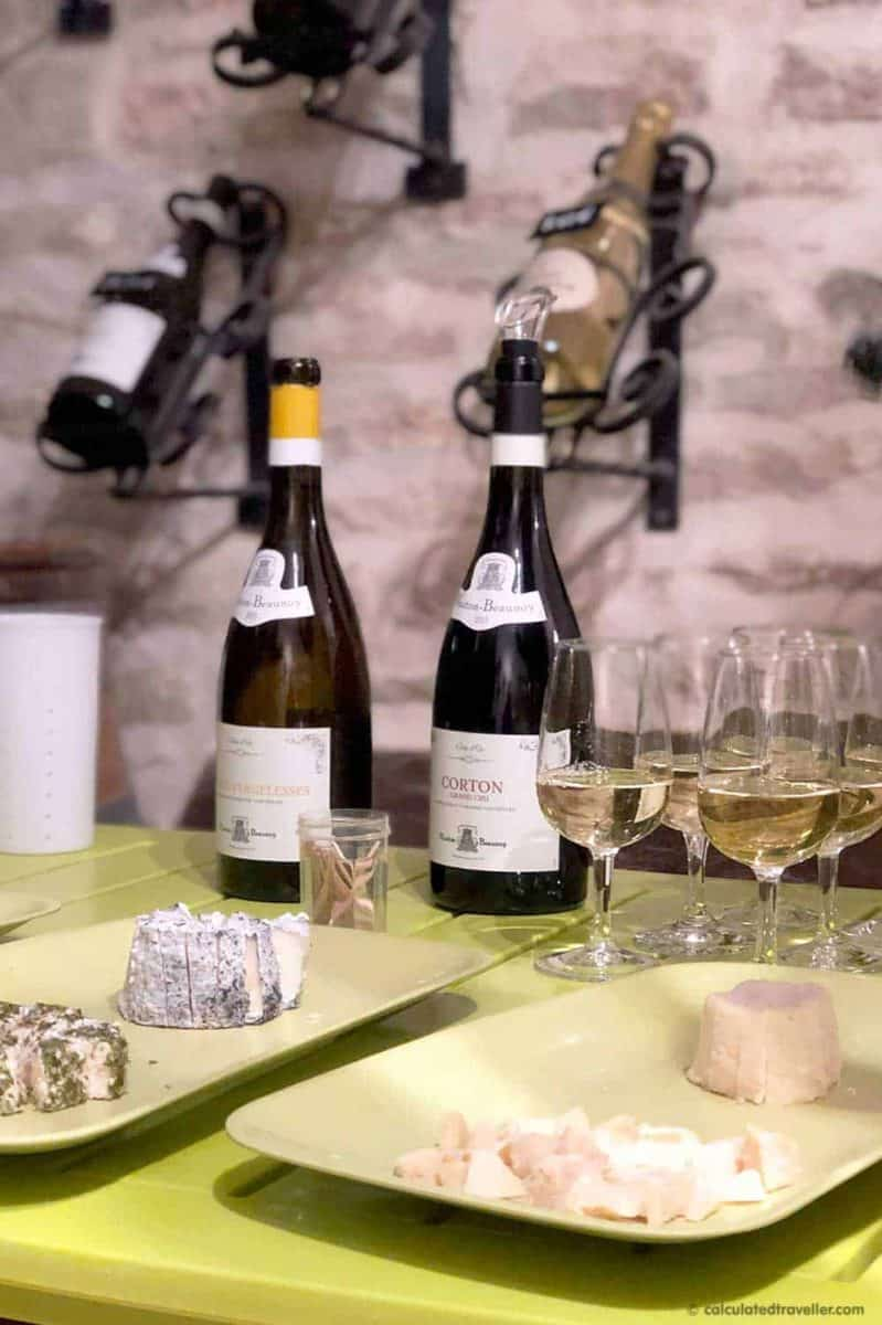 Goat Cheese and Wine Tasting