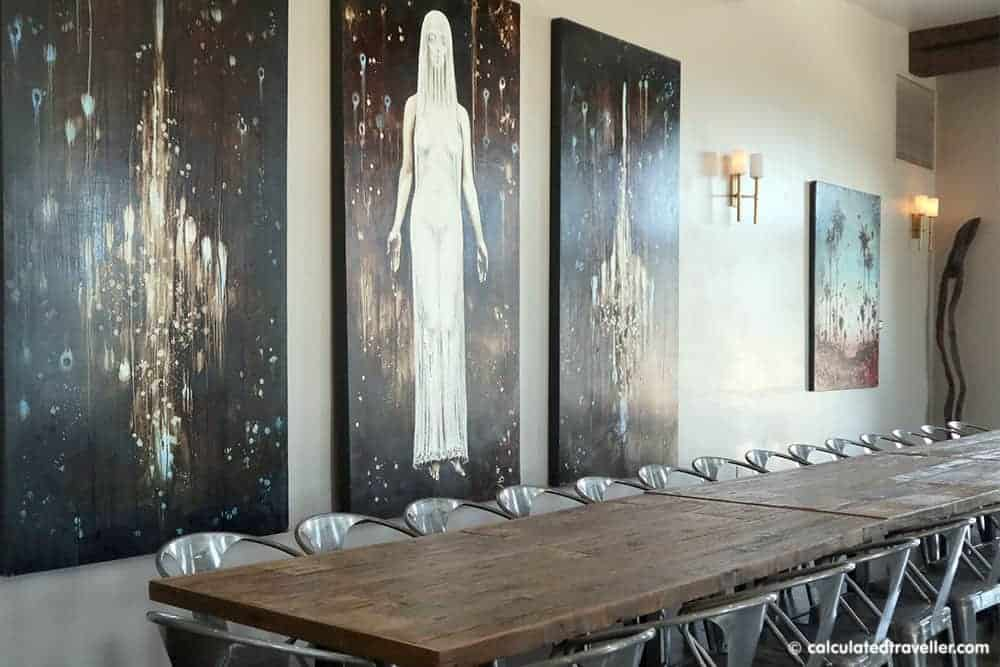 Tooth and Nail Winery Interior Space