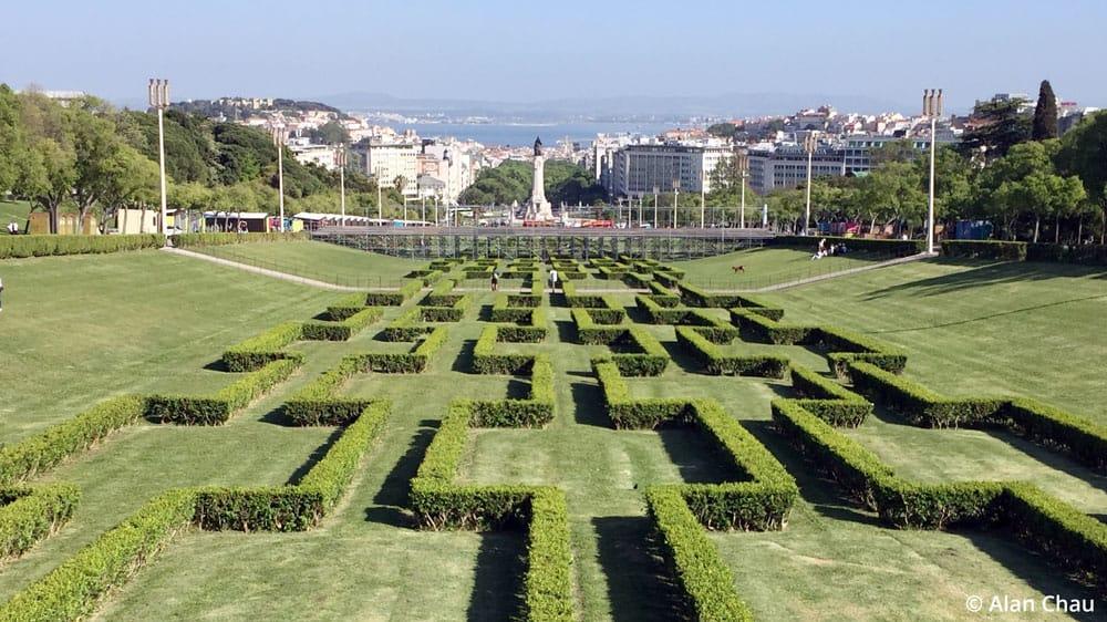 Eduardo VII Park Lisbon Portugal