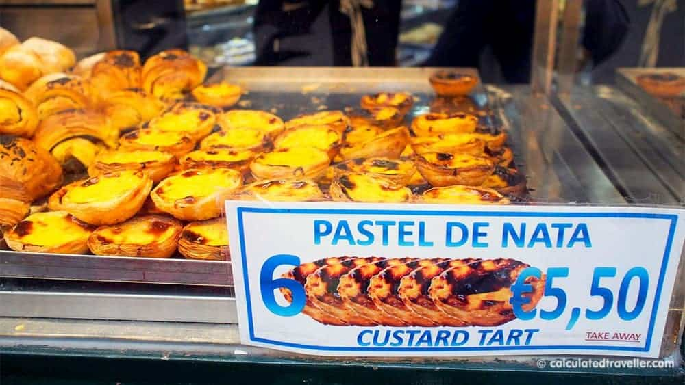 Portuguese Pastel de nata egg custart tart