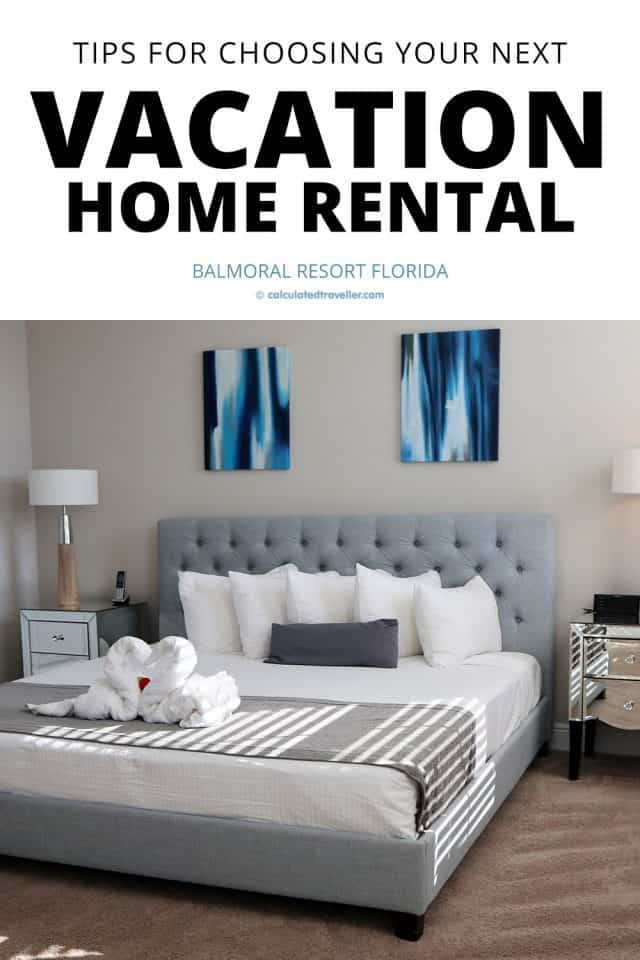 Tips for choosing your next vacation home rental