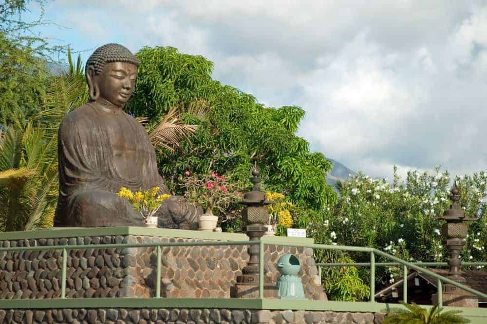 Buddha at Lahaina Jodo Mission