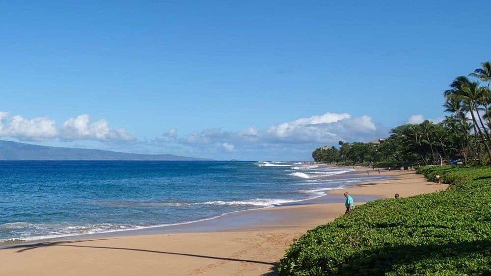 Royal Lahaina Beach front