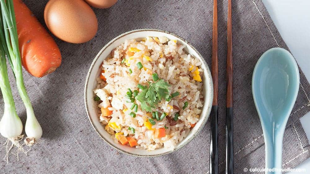 Cultural Foods - Chinese fried rice