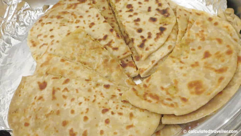 Paratha is a type of Indian bread that is ideally consumed for breakfast