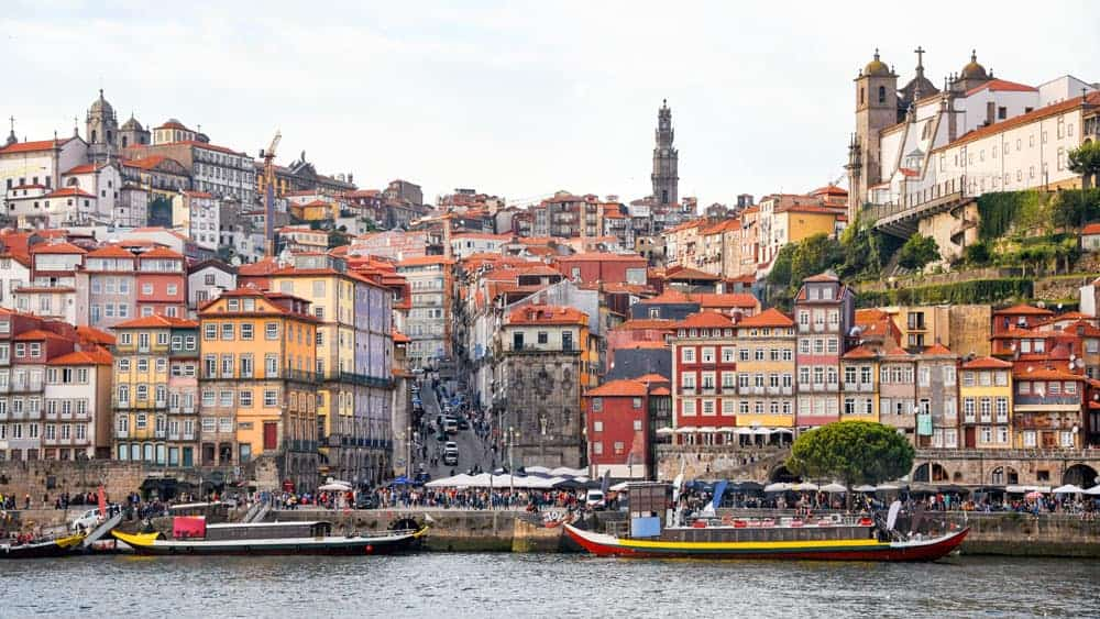 Ribeira Riverfront Porto Portugal a must when spending the weekend in Porto