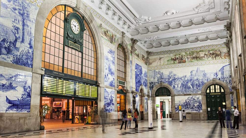 Start your perfect weekend in Porto Portugal at the São Bento Railway Station