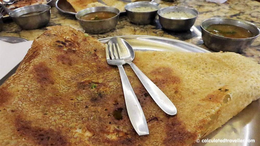 A First-Time Traveller Guide to the Most Popular Indian Food in the World - Masala Dosa