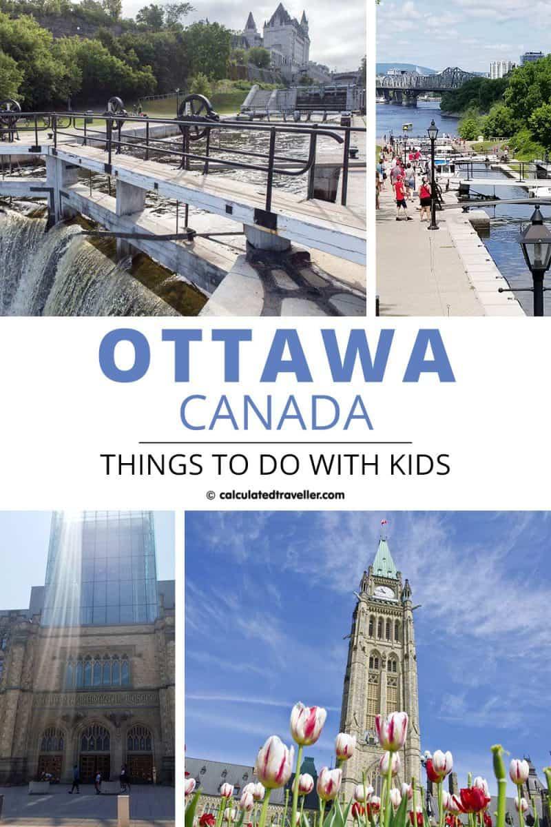 Ottawa with Kids PIN