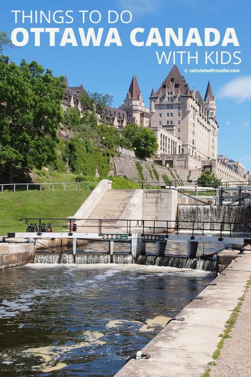 Rideau Canal Locks Ottawa Ontario Canada