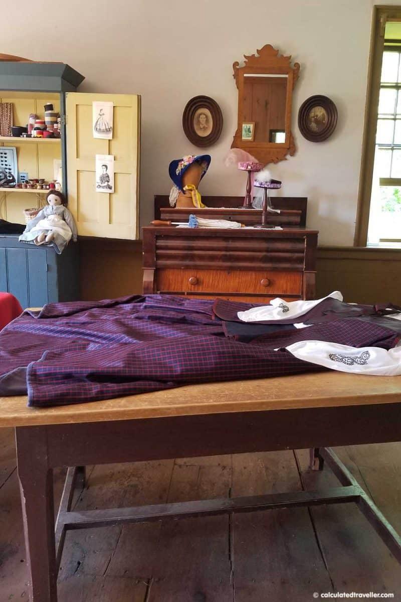 Upper Canada Village Ottawa Dressmaker's Shop